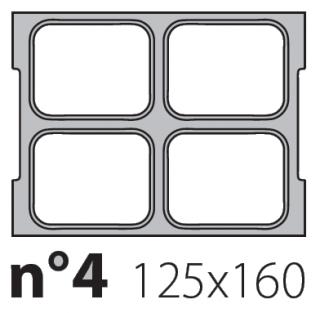 Матрица на запайщик лотков Oceania Mini 125×160