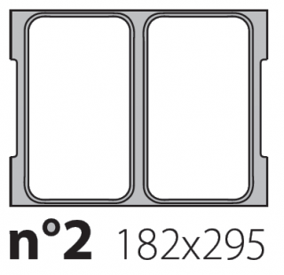 Матрица на запайщик лотков Oceania 182×295
