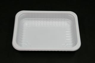 Лоток под запайку 187×137×37 мм белый