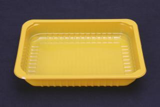 Лоток под запайку 227×178×40 мм желтый