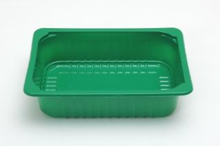 Лоток под запайку 210×148×55 мм зеленый