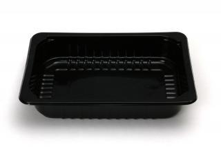 Лоток под запайку 210×148×40 мм черный