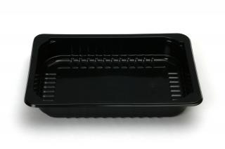 Лоток под запайку 210×148×35 мм черный