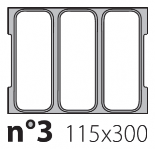 Матрица на запайщик лотков Oceania 150×300