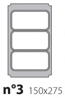 Матрица на запайщик лотков Polaris 150×275