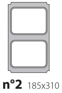 Матрица на запайщик лотков Express 185×310