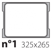 Матрица на запайщик лотков Oceania Mini 325×265