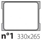Матрица на запайщик лотков Oceania Mini 330×265
