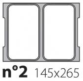 Матрица на запайщик лотков Oceania Mini 145×265