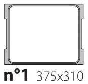 Матрица на запайщик лотков Oceania 375×310