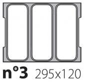 Матрица на запайщик лотков Oceania 295×120