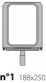 Матрица на запайщик лотков Poseidon 180×310