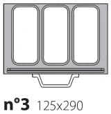 Матрица на запайщик лотков Poseidon Gastronorm 125×290