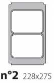 Матрица на запайщик лотков Polaris 228×275