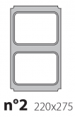 Матрица на запайщик лотков Polaris 220×275