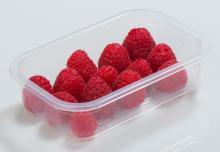Упаковка ягод малины